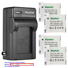 Kastar Battery Wall Charger for Canon NB-11L NB-11LH Canon ELPH 180 ELPH 190 IS