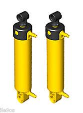 2 Lego Pneumatic LARGE Cylinders  (technic,excavator,long,crane,system,V2-Ver.2)