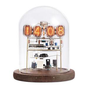 Vintage IN-12 Nixie Röhren Uhr Tube Clock DIY Kit / Assembled Home Décor Clock