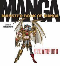 Monster Book of Manga Steampunk by Jorge Balaguer (2015, Paperback)