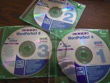 Video Professor Word Perfect 8 Software Minimum Requirements Windows 95