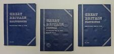 GREAT BRITAIN 3  Whitman folders Halfpennies, Pennies & Farthings Empty