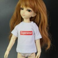 "White Supre M T shirt Top Clothing For 1/6 11"" 27"" BJD doll AOD YOSD DOD DK DZ"