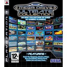 SEGA MEGA DRIVE: ULTIMATE COLLECTION (Sony PlayStation 3) Free UK Post
