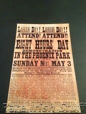 Labour Day! Phoenix Park, Dublin,Ireland 1891 May Day Unions Demonstration-Print