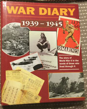 War Diary 1939-1945 by Marshall Cavendish-1st Printing-1995-Illustrated-WWII