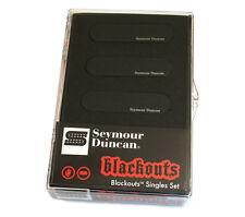 Seymour Duncan AS-1s Blackouts Active Black Pickups for Fender Strat® 11206-12-B
