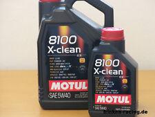 8,38€/l Motul 8100 X-clean 5W-40 6 Ltr