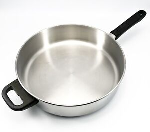 Farberware 11 inch 18/10 Stainless Steel Saute/Frying/Sauce Pan No Lid T00099