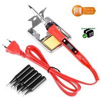 Fer à souder électrique JCD 220V 80W écran LCD température réglable accessoires