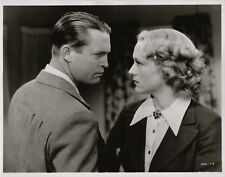 Sally Eilers, Chester Morris ~ ORIGINAL 1935 scene portrait... Pursuit
