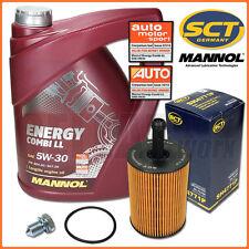 Golf 5 6 Passat B6 Touran 1.9 2.0 TDI | 5L MANNOL Energy Combi 5W-30 + Ölfilter