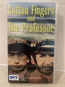 VHS Cotton Fingers And The Professor Story Of George Moore And Roy Higgins