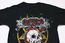 Sz M/S HIM VENUS DOOM His Infernal Majesty Finnish Rock Heartagram Skull T-Shirt