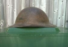 WW1 Model A / British Army War Office Pattern Brodie Helmet. RAW EDGE.