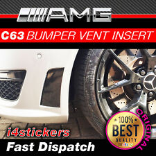 Mercedes C63 AMG Vent (bumper) sticker, Decal (Gloss Black)