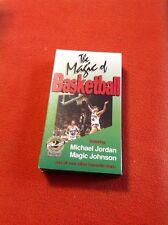 The Magic of Basketball - Michael Jordan & Magic Johnson - VCR Tape