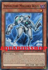 Yu-Gi-Oh Imperatore Meklord Wisel LC5D-IT168 SuperRaro ITA Meklord Emperor Wisel