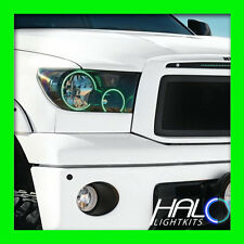 FOR TOYOTA TUNDRA 2007-2013 ORACLE GREEN LED ANGEL EYES HALO HEADLIGHT RINGS
