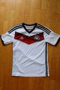 """DFB Deutschland Trikot """"Die Mannschaft"""" 2014 in Kinder-Größe 160 adidas"""