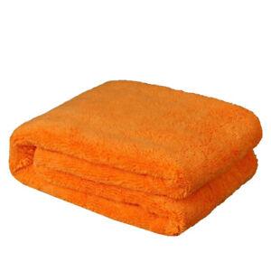 "Large Microfiber Towel Soft Car Wash Polish Drying Cleaning Cloth 500 gsm 25x36"""