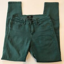 BDG Urban Outfitters Women's Colored Jeans Skinny Teal Green Cigarette