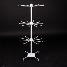 Tall 27 Inch Spinning Counter Display Rack White ornament Store stand shelving