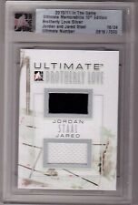 JORDAN STAAL JARED STAAL 10/11 ITG Ultimate Brotherly Dual Jersey #16/24 Rookie