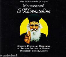 * - CD-Le Chant du Monde-moussorsgski-LA KHOVANTCHINA-Alexei Krivtchenia