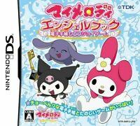 USED NintendoDS My Melody Angel Book: Denshi Techou & Enjoy Game