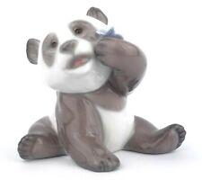 More details for lladro a happy fanda figurine 8357 second panda contento