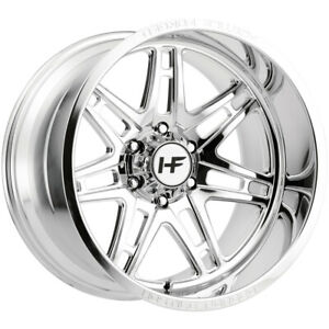 "Hostile HF05 Atomic 20x12 6x5.5"" -44mm Polished Wheel Rim 20"" Inch"