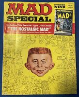 9th MAD SPECIAL MAGAZINE No. 9 Vintage Ninth Annual Edition 9 WITH Bonus Comic