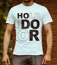 Game of Thrones Hold the Door Hodor T-Shirt Men`s Women`s Funny LeRage Tee Shirt