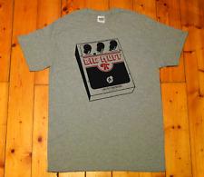guitar pedal effect, shoegaze, grunge, distortion, fuzzbox, big muff - t-shirt