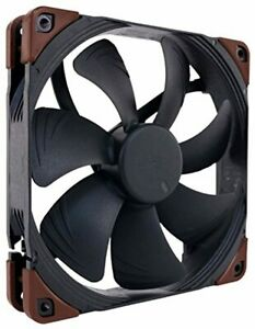 Noctua NF-A14 iPPC-3000 PWM 4-Pin Heavy Duty Cooling Fan with 3000RPM 140mm  New