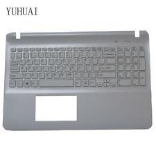 Sony SVP112A1CL SVP112A1CW SVP112A1CM Palmrest keyboard Spanish SP backlit