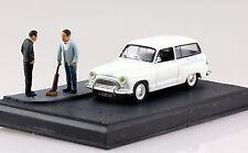 Simca Aronde Break weiß Diorama 1:43 Altaya/IXO Modellauto