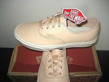 Vans Mens Authentic DX Lace Up Veggie Tan Leather Skate Boat shoes Size 11 NWT