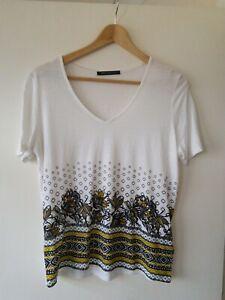 M&S t-shirt style top (Linen blend) size 12