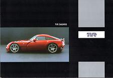 TVR Sagaris 4-Litre 2005-06 UK Market Foldout Sales Brochure