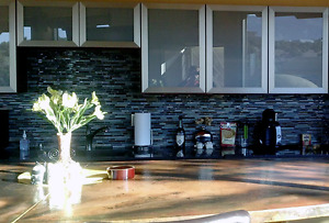 Custom Glass Cabinet Doors Aluminum Frame For Closet, Vanity, Kitchen Fronts