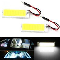 2pcs T10 36 COB LED DC 12V Car Interior White Dome Map Light Bulbs Panel Lamp W