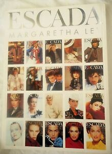ESCADA Vintage 1999 Fashion Full Catalog Look Book  Spring Summer 251 Pages