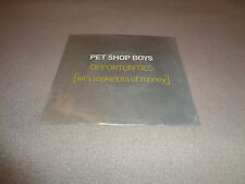 "Pet Shop Boys ‎– Opportunities - EMI AMerica 7"" Vinyl 45 - PS - 1986 - NM"