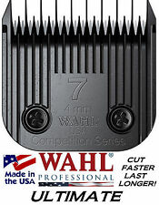 WAHL ULTIMATE COMPETITION Pet Grooming 7 SKIP BLADE*FitMost Oster,Andis Clipper