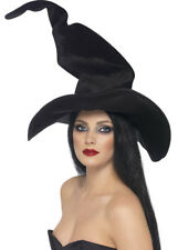 Harry Potter Style Deluxe Black Witch Hat