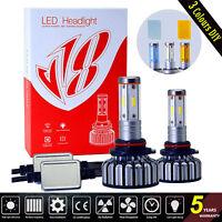 4côtés 9006 HB4 LED Headlight Kit ampoules Conversion lumière 60W 7600LM 6000K