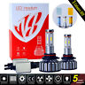 4 Sides 9006 HB4 LED Headlight Kit Bulbs Conversion Light 60W 7600LM 6000K DIY