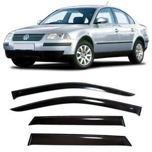 For VW Passat B5 Sd 1997-2005 Side Window Visors Sun Rain Guard Vent Deflectors